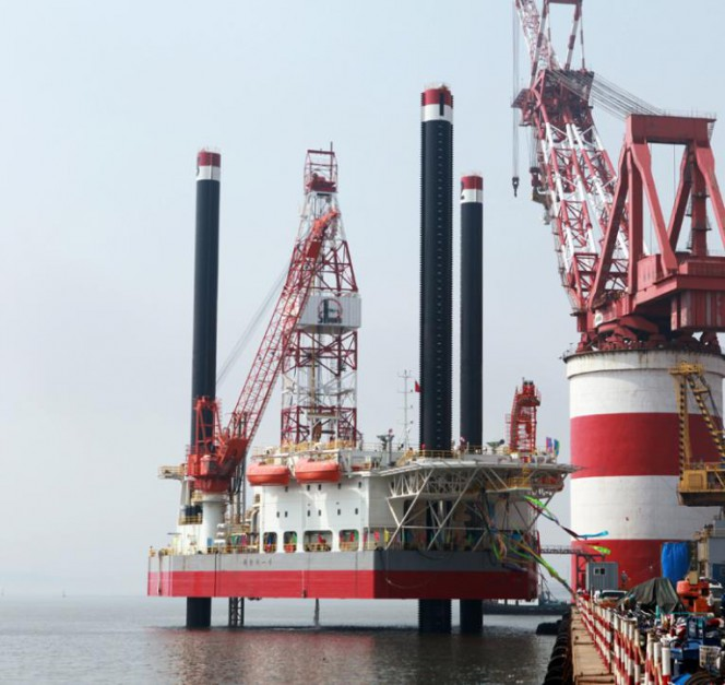 CIMC to Build Another Jack-Up for Sinopec