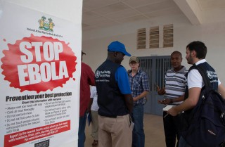 Oil & Gas UK concerns about Ebola virus within industry