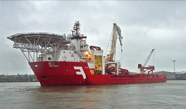 Technip enters five-year deal with Farstad