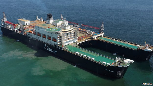£2 Billion Oil and Gas Vessel Nears Completion