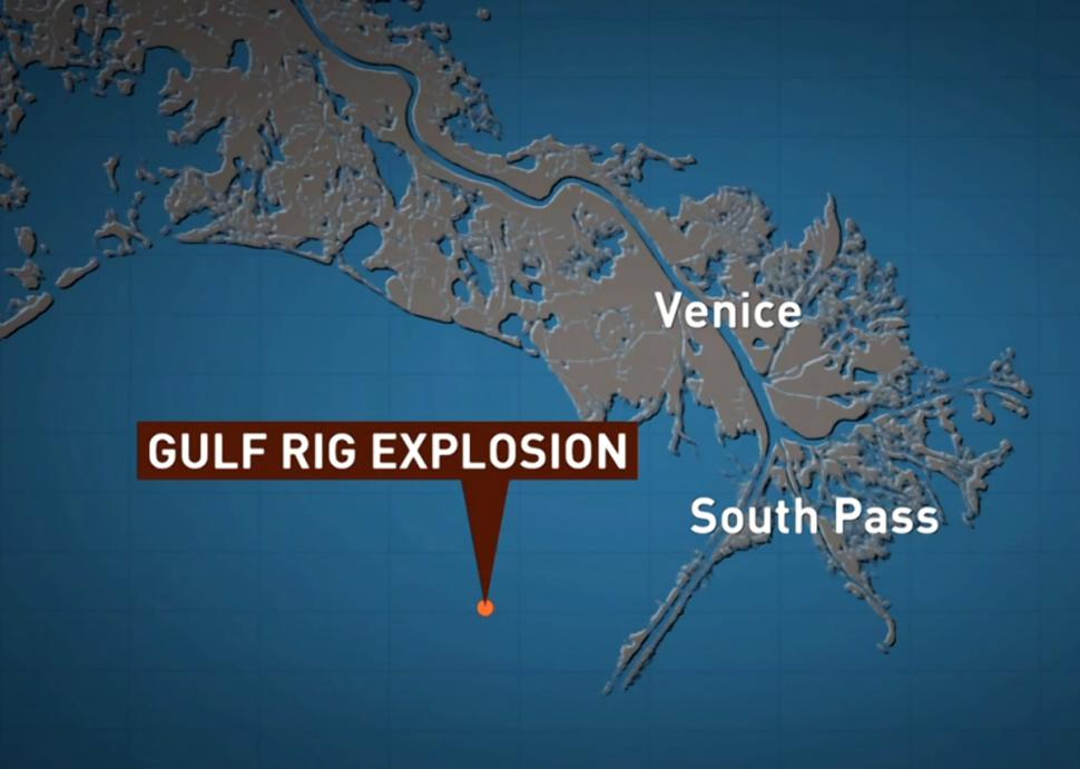 1 Killed, 3 Injured in Oil Rig Explosion in Gulf of Mexico